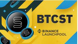 Binance launchpool unveils new project - BTCST.